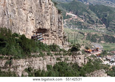 Parts Of A Heng Shan Taoist Temple Complex In North China, Near Datong, Shanxi Province