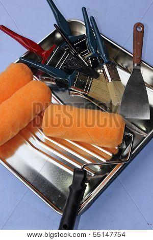 A decorators equipment