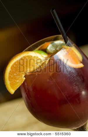 Sangría verano vino bebidas