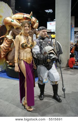 Slave Leia At Comic-con