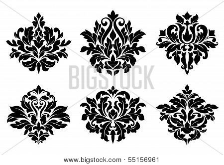 Decorative Floral Elements And Embellishments