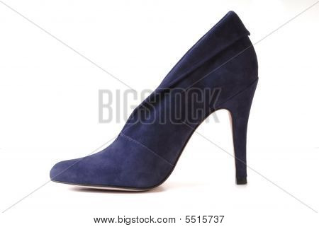 Blue Suede Shoe