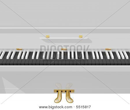 The White Piano 00001