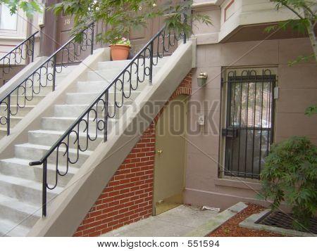 Apartamento no andar de baixo