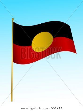 Flag - Aboriginal Australia -2