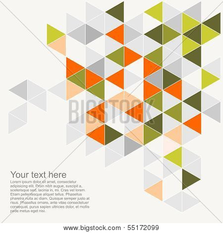 Pastel colorful vector background illustration with empty space for text.