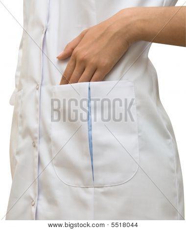 White Doctors Coat