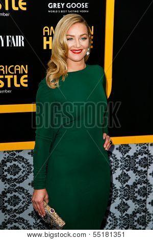 NEW YORK-DEC 8: Actress Elisabeth Rohm attends the