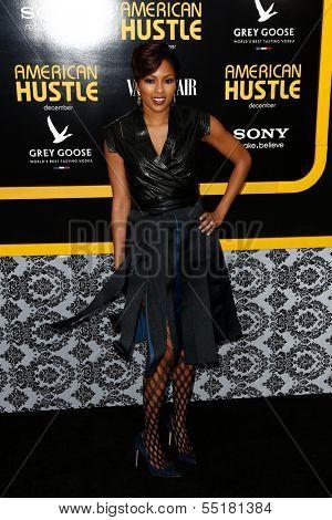 NEW YORK-DEC 8: TV host Alicia Quarles attends the