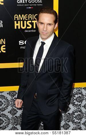 NEW YORK-DEC 8: Actor Alessandro Nivola attends the