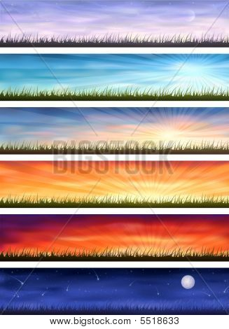 Day Cycle (grassy Landscapes)