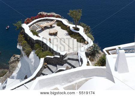 Panoramic View From Oia,santorini