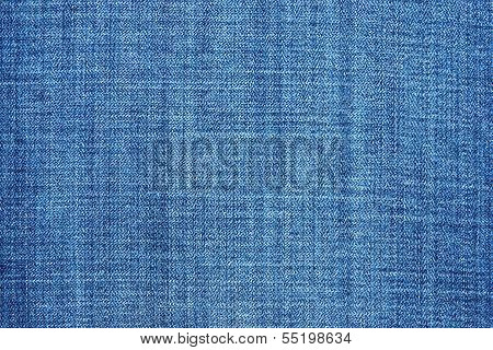 External Texture Of Shabby Jeans