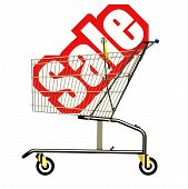 pic of trolley  - Sale trolley copy image with hi - JPG