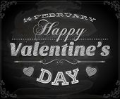 foto of february  - Happy Valentines Day Card Design - JPG