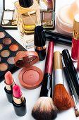 image of blush  - Professional makeup set - JPG