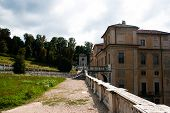 stock photo of torino  - Beautiful villa park near Torino in Italy