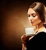 stock photo of hot coffee  - Coffee - JPG