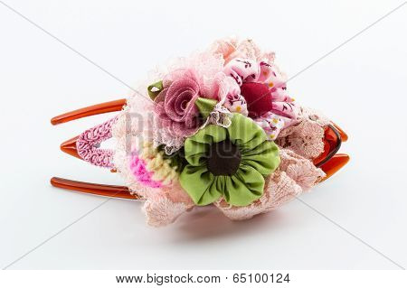 Hair Pink Clip , Accessory For Women.