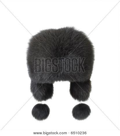 Wooman Earflaps Fur Cap Winter