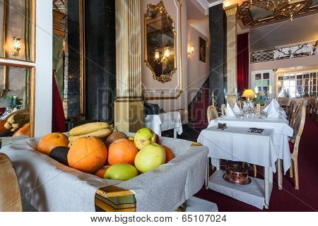 Restaurant And Fruits