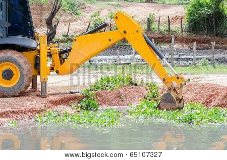 Loader Backhoes Working