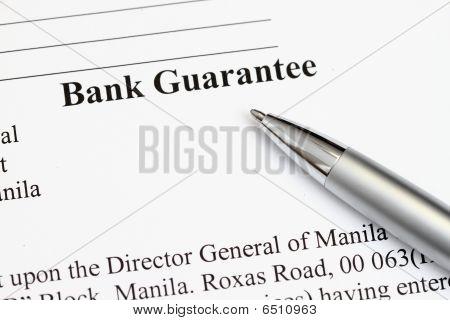 Bank Guarantee