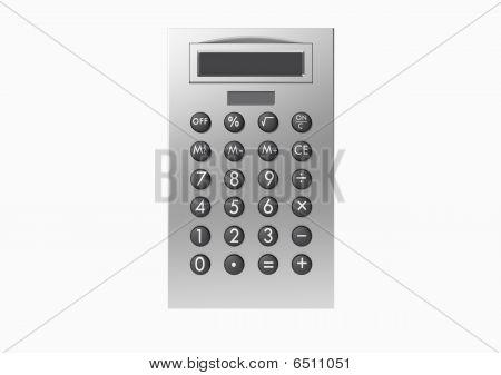 Isolated Calculator