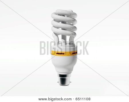Aislado de la lámpara