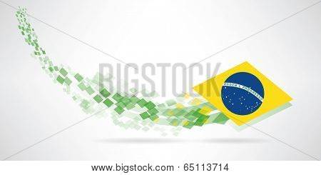 brazil. A futurist background of Brazil for you