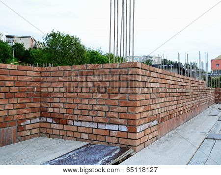 Brick Masonry - Construction Site