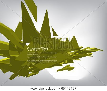 3D Graphic Design Template