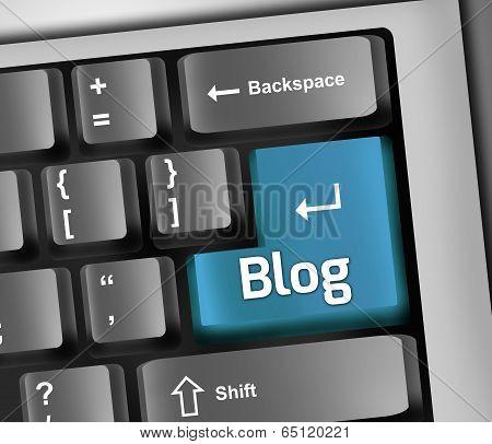 Keyboard Illustration Blog
