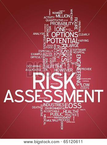 Word Cloud Risk Assessment
