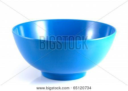 Blue Bowl Isolate