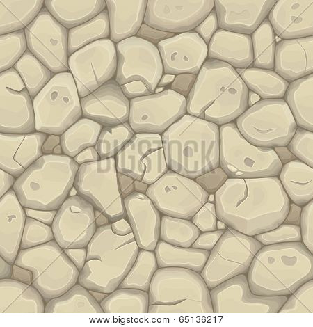 Sand stone seamless background. Vector illustration