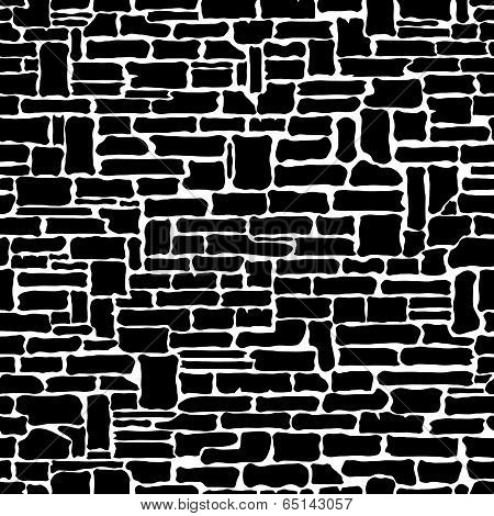 Stone seamless pattern.