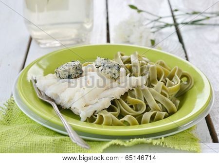 Codfish Fillet And Pasta