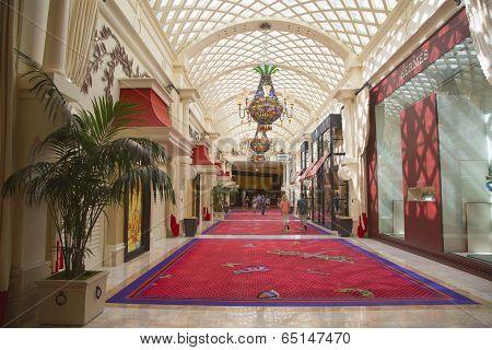 The Wynn Esplanade at the  Wynn Hotel and Casino