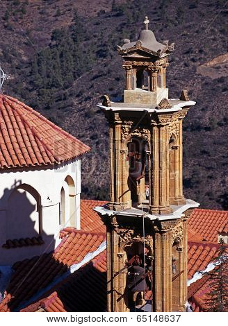 Machairas Monastery bell tower.