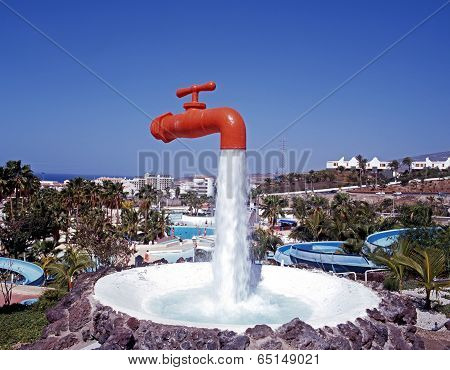 Tap fountain, Tenerife.
