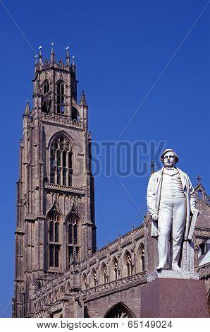 St Botolphs Church, Boston, UK.