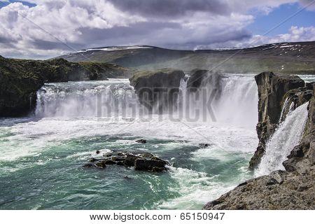 Godafoss Waterfall, Iceland.