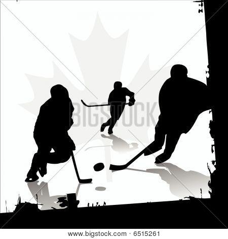 Ice Hockey-Spieler