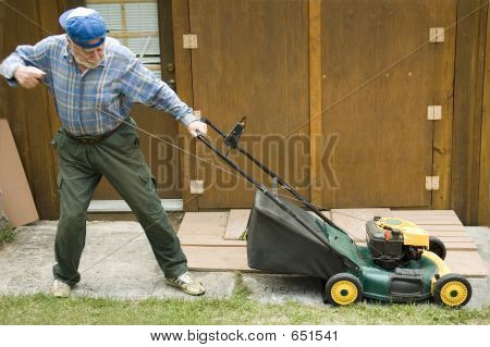 Lawn Mower Starting