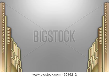 Deco Skyscraper Frame