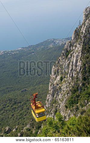 Cable Car In Crimea