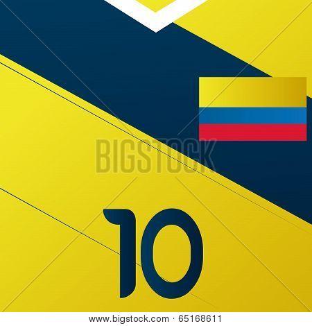 Vector Argentina Soccer Uniform Illustration Editable