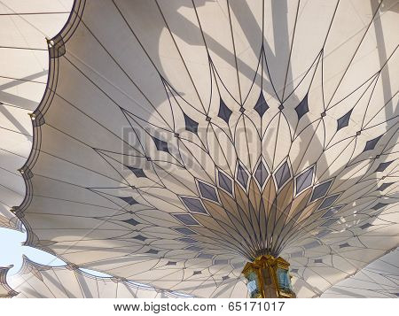 Umbrella Pillar Of Masjid Nabawi