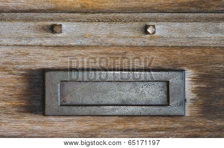 Mail box letterbox